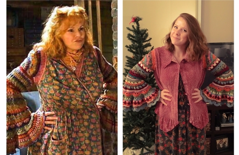Mrs Weasley Side by Side