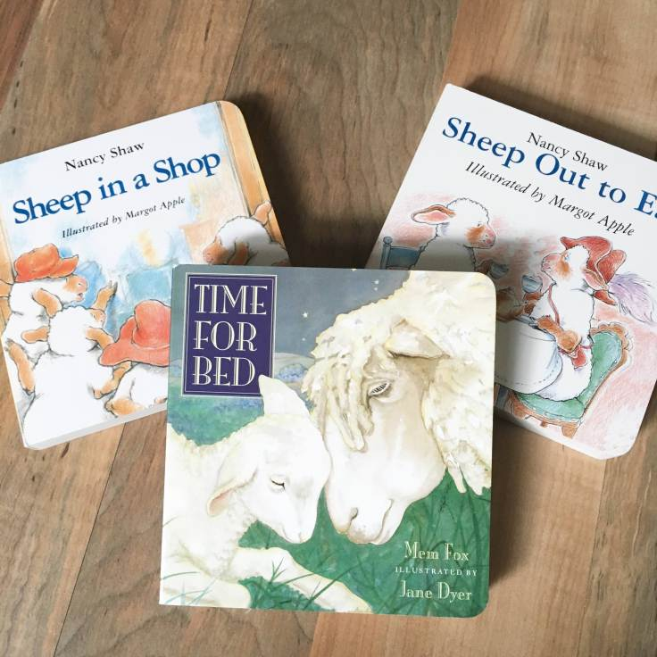 Sheep Baby Books