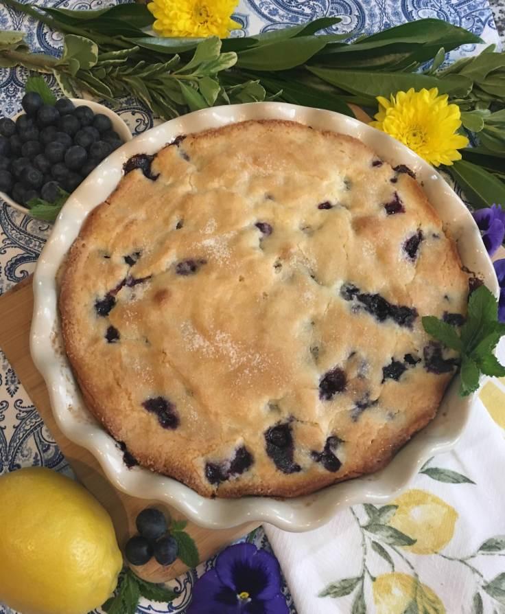 Sunrise Lemon Blueberry Cake 1