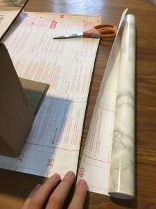 02 Cut Contact Paper