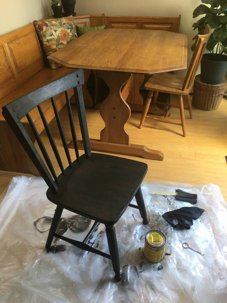12 Chair Stained