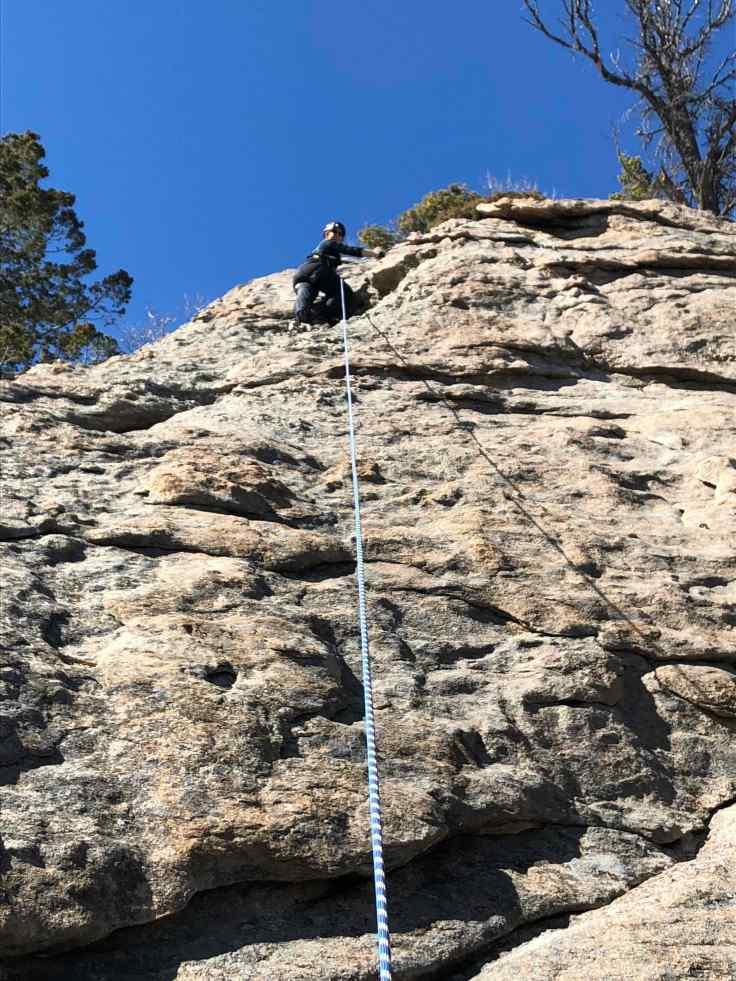 13 M'Lyn Climbing