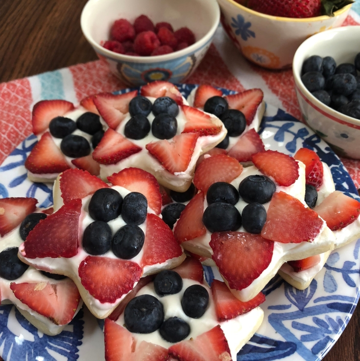 Mini Start Fruit Pizzas 2