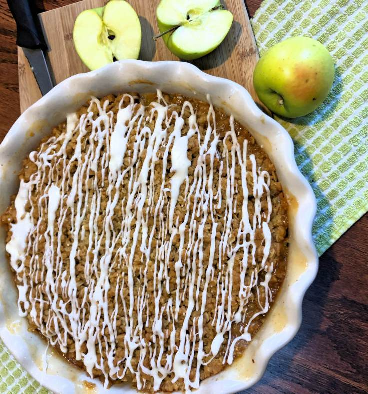 Vegan Apple Crisp 1