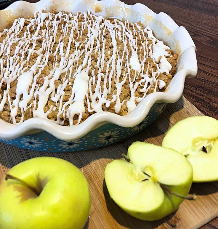 Vegan Apple Crisp 2