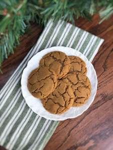 01 Vegan Gluten Free Gingersnaps