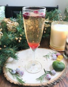 Cranberry Kir Royal