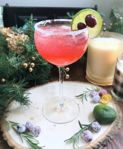 Cranberry Lime Margarita 1