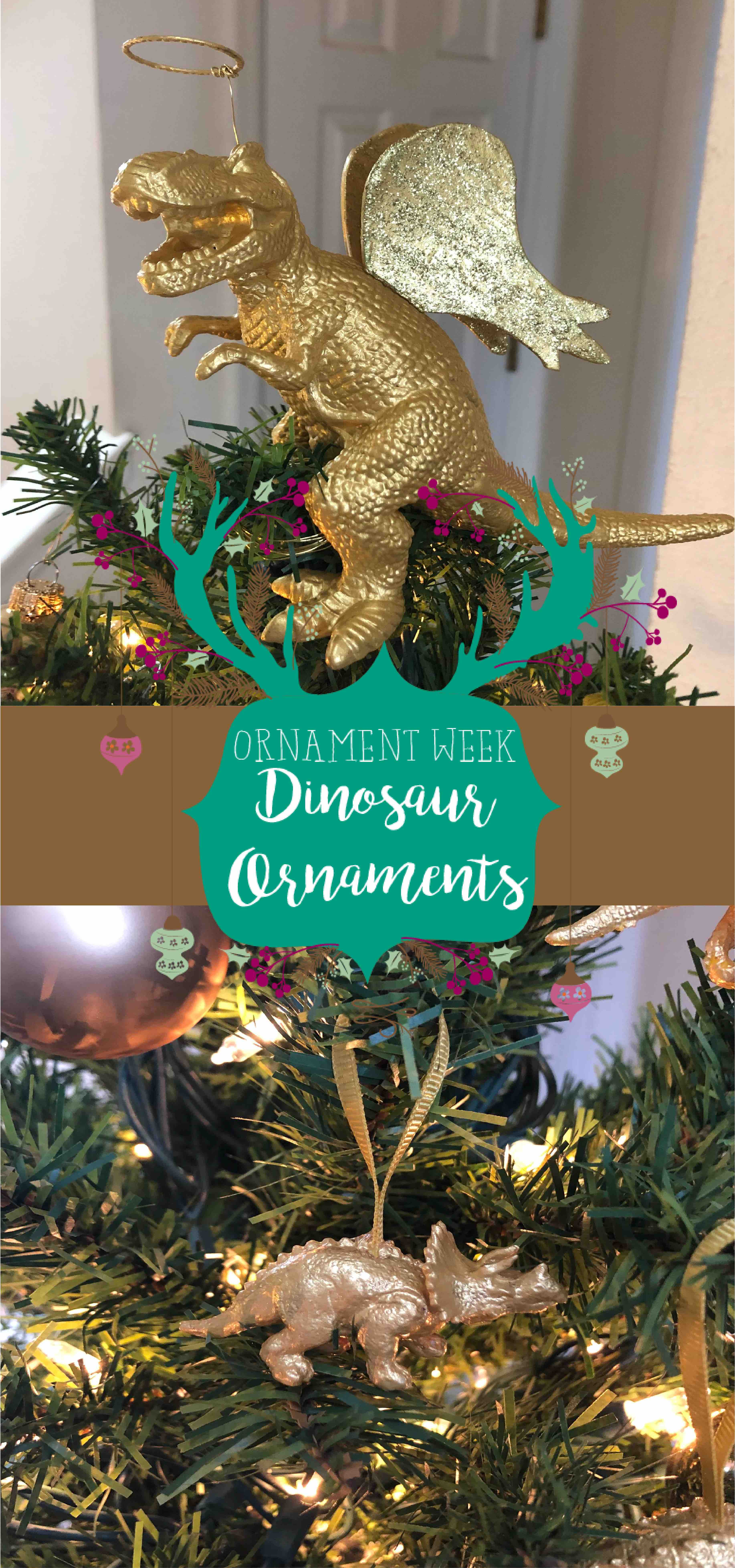 Ornament Week Diy Dinosaur Ornaments A Gypsy Life For Me