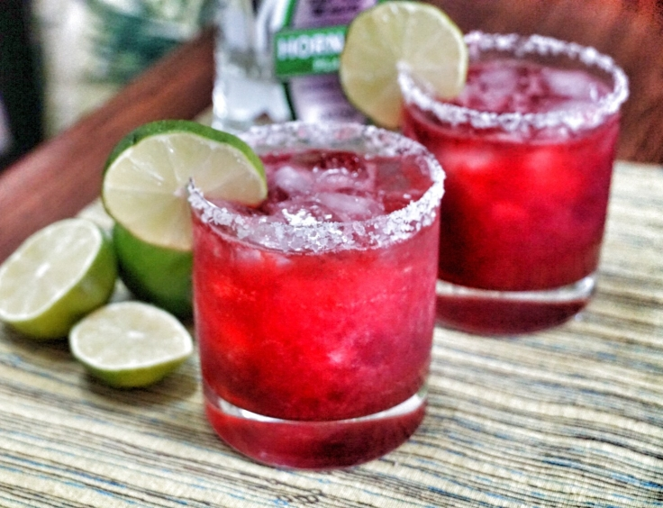 Spicy Blackberry Margarita 2