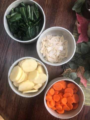 Ingredients for Sherpa Stew
