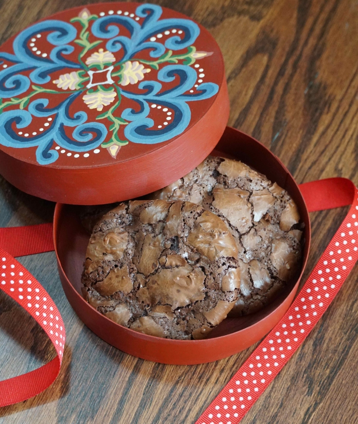 Flourless Chocolate Brownie Cookies 3